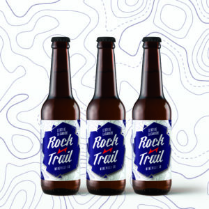 Biere au brasseur qui boit rockntrail